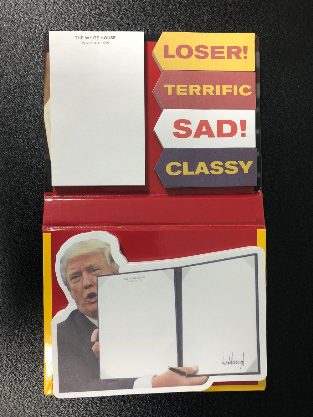 Trump's Executive Orders Sticky Notes
