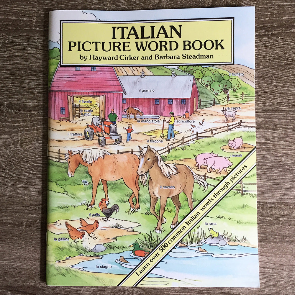 Italian Word Picture Book for Kids