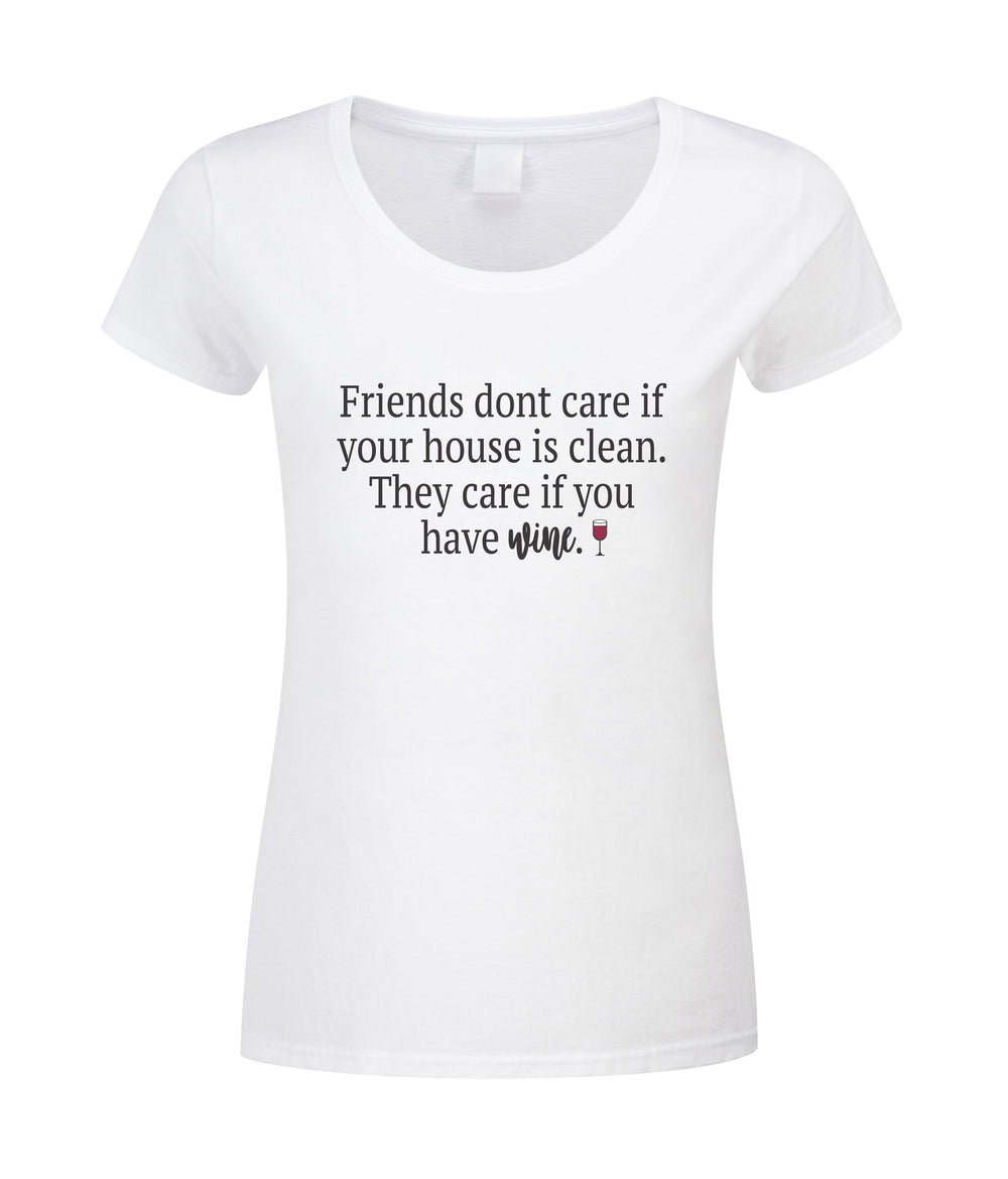 Friends Care if You Have Wine