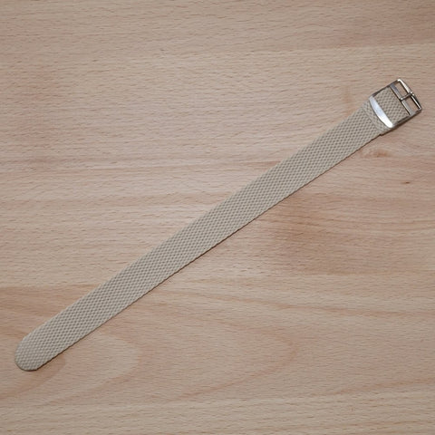 Perlon Beige Watch Strap