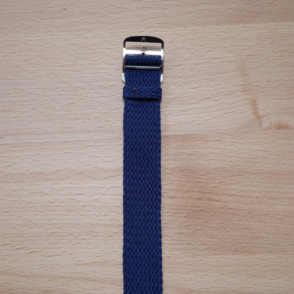 Perlon Blue Watch Strap