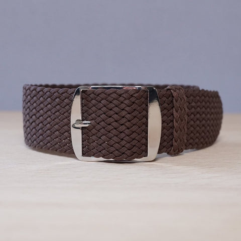 Perlon Brown Watch Strap