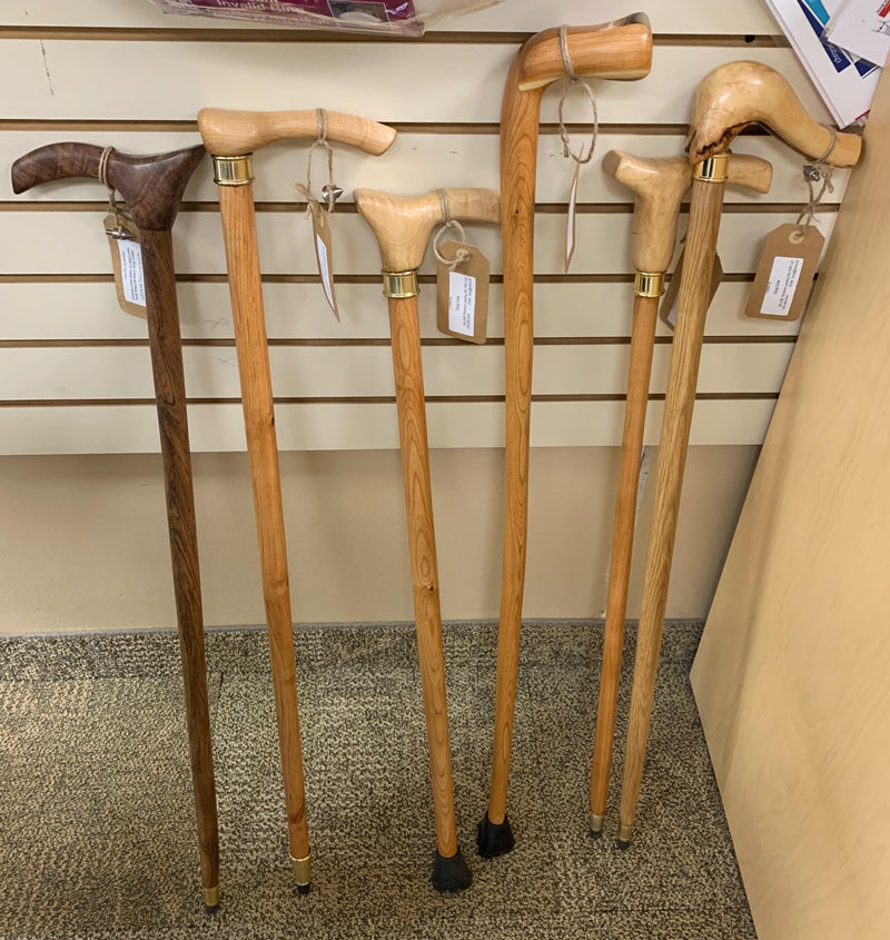Handcrafted Wood Walking Sticks