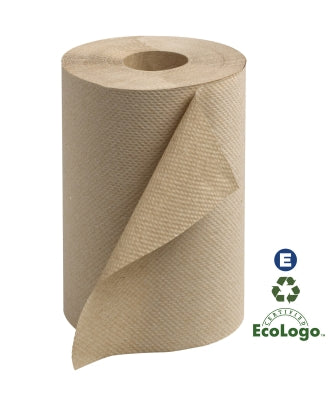 Kraft Brown Round Paper Towels