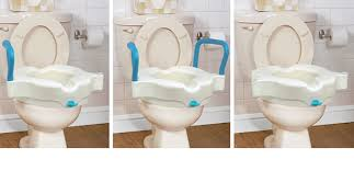 Toilet Seat Riser with Arms - 4""