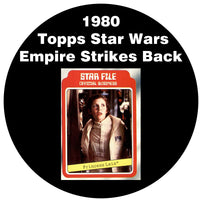 1980 Topps The Empire Strikes Back