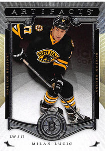 2015-16 Upper Deck Artifacts #99 Milan Lucic MINT Bruins