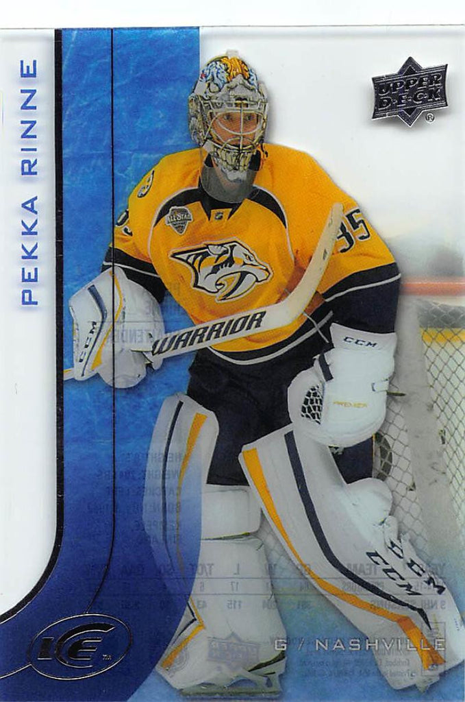 2015-16 Upper Deck Ice #8 Pekka Rinne MINT Predators