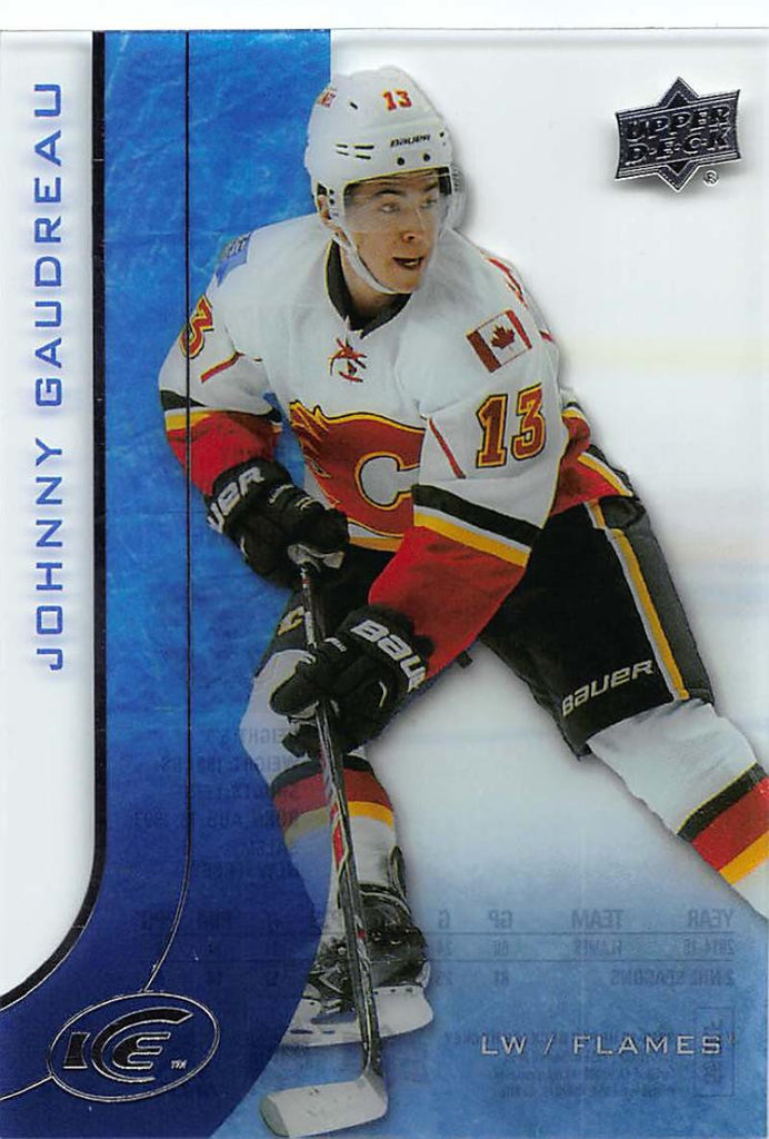 2015-16 Upper Deck Ice #26 Johnny Gaudreau MINT Flames