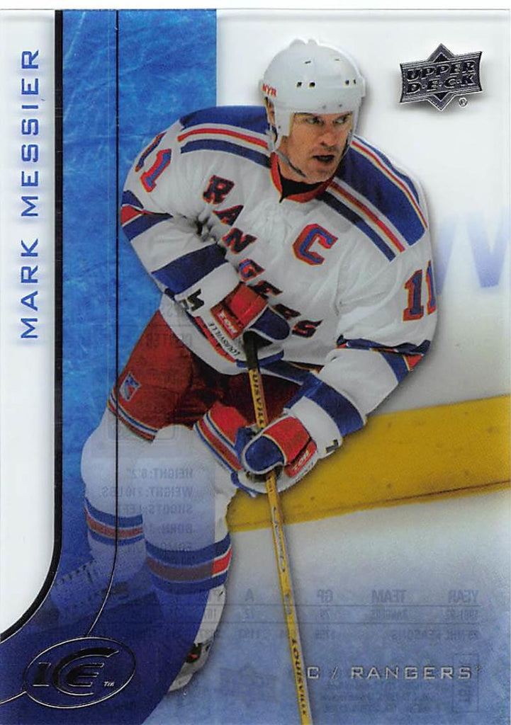 2015-16 Upper Deck Ice #95 Mark Messier MINT NY Rangers