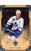Hockey NHL 2013-14 Artifacts #21 Doug Gilmour MINT Maple Leafs