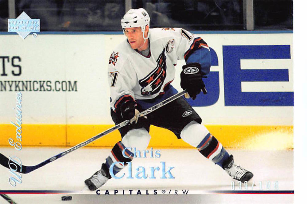 2007-08 Upper Deck Exclusives Parallel #194 Chris Clark MINT Hockey NHL 39/100 Capitals