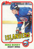 1981-82 Topps #4 Mike Bossy  Hockey NHL NY Islanders