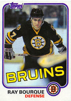 1981-82 Topps #5 Ray Bourque NM-MT Hockey NHL Bruins