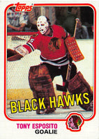 1981-82 Topps #11 Tony Esposito NM-MT Hockey NHL Blackhawks