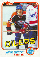 1981-82 Topps #16 Wayne Gretzky NM-MT Hockey NHL Oilers