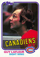 1981-82 Topps #19 Guy Lafleur NM-MT Hockey NHL Canadiens