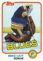 1981-82 Topps #20 Mike Liut NM-MT Hockey NHL Blues