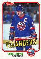 1981-82 Topps #27 Denis Potvin NM-MT Hockey NHL NY Islanders