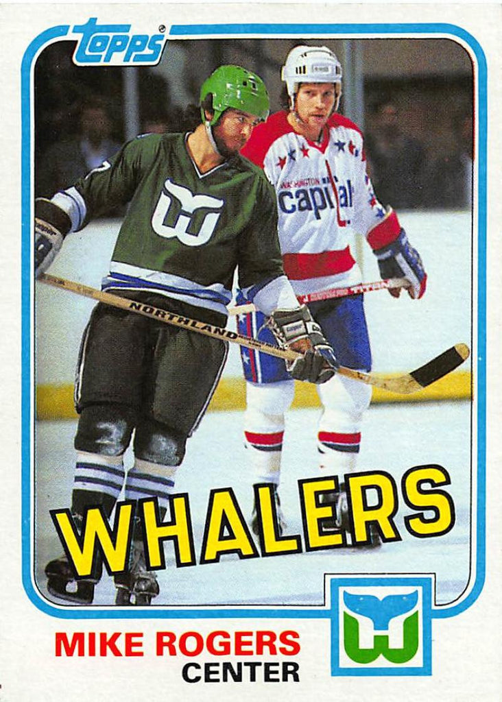 1981-82 Topps #32 Mike Rogers NM-MT Hockey NHL Whalers