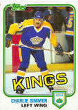 1981-82 Topps #35 Charlie Simmer NM-MT Hockey NHL Kings