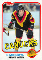 1981-82 Topps #38 Stan Smyl NM-MT Hockey NHL Canucks
