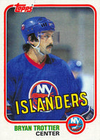 1981-82 Topps #41 Bryan Trottier NM-MT Hockey NHL NY Islanders