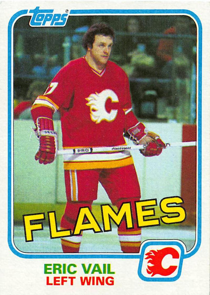 1981-82 Topps #43 Eric Vail NM-MT Hockey NHL Flames