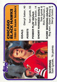 1981-82 Topps #49 Tom Lysiak TL NM-MT Hockey NHL Blackhawks