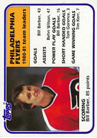 1981-82 Topps #59 Bill Barber TL NM-MT Hockey NHL Flyers