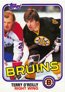 1981-82 Topps #E71 Terry O'Reilly NM-MT Hockey NHL Bruins