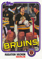 1981-82 Topps #E74 Rogie Vachon NM-MT Hockey NHL Bruins