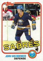 1981-82 Topps #E80 John Van Boxmeer NM-MT Hockey NHL Sabres