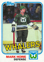 1981-82 Topps #E82 Mark Howe NM-MT Hockey NHL Whalers
