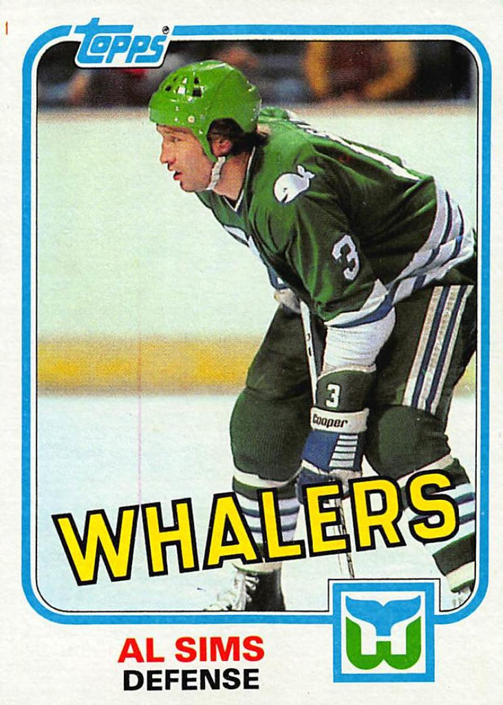1981-82 Topps #E85 Al Sims NM-MT Hockey NHL Whalers
