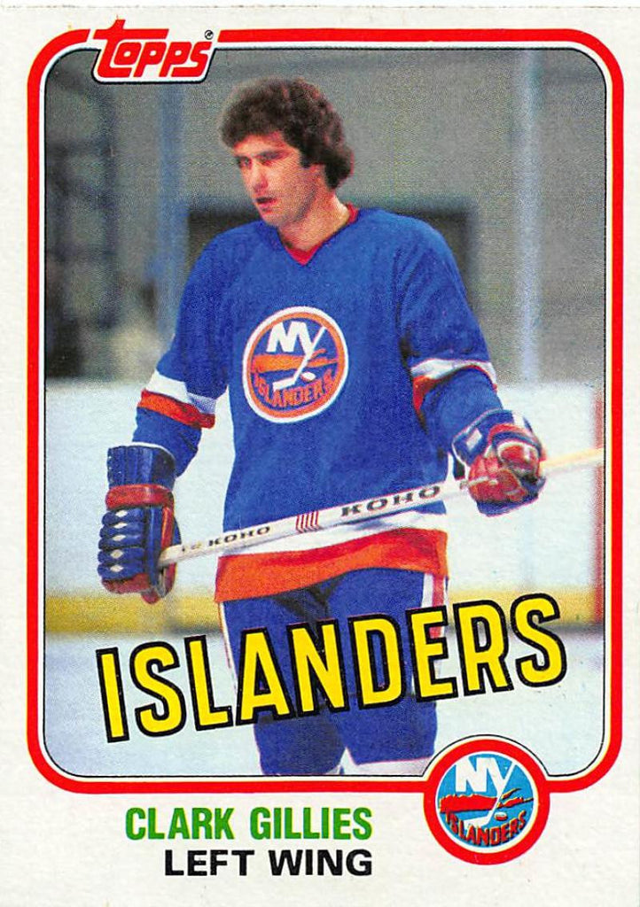 1981-82 Topps #E88 Clark Gillies NM-MT Hockey NHL NY Islanders