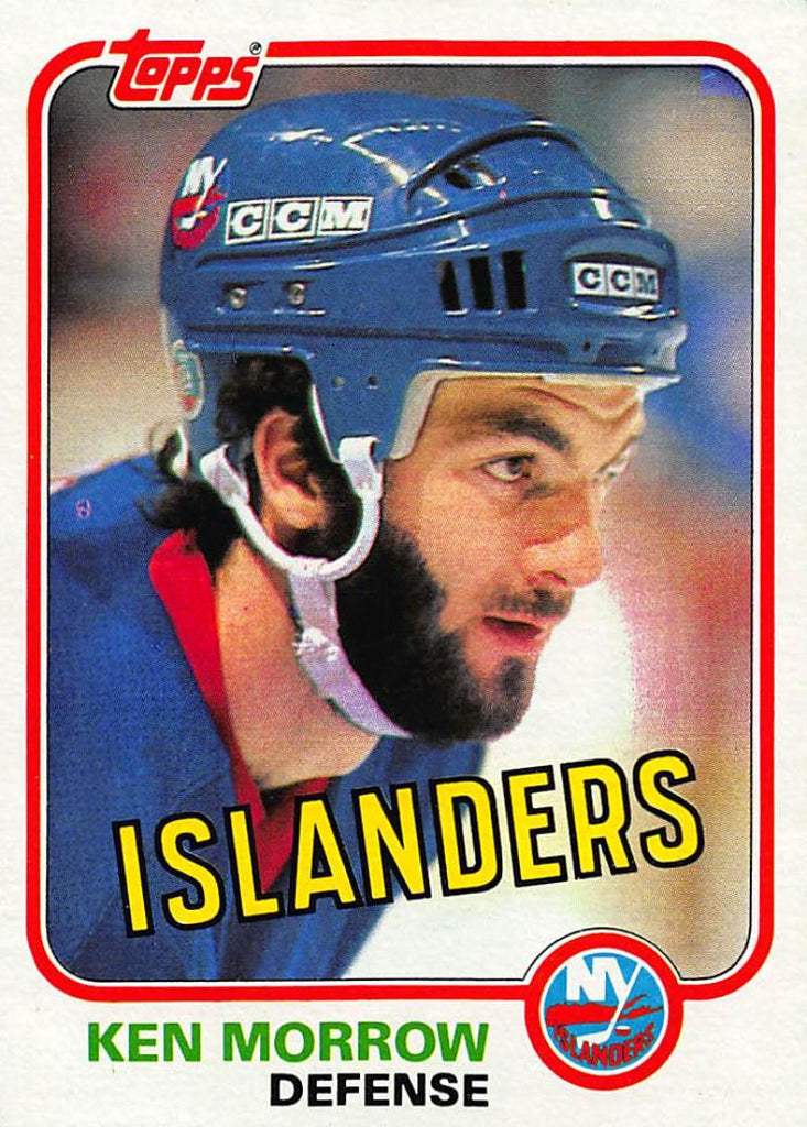 1981-82 Topps #E91 Ken Morrow NM-MT Hockey NHL NY Islanders