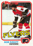 1981-82 Topps #E104 Bob Dailey NM-MT Hockey NHL Flyers