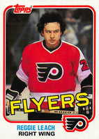 1981-82 Topps #E106 Reggie Leach NM-MT Hockey NHL Flyers