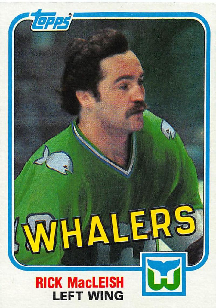 1981-82 Topps #E108 Rick MacLeish NM-MT Hockey NHL Flyers