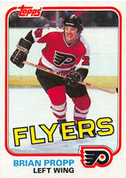1981-82 Topps #E110 Brian Propp NM-MT Hockey NHL Flyers