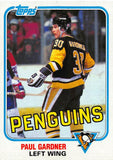 1981-82 Topps #E113 Paul Gardner NM-MT Hockey NHL Penguins