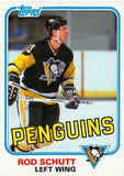 1981-82 Topps #E116 Rod Schutt NM-MT Hockey NHL Penguins