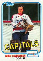 1981-82 Topps #E121 Mike Palmateer NM-MT Hockey NHL Capitals