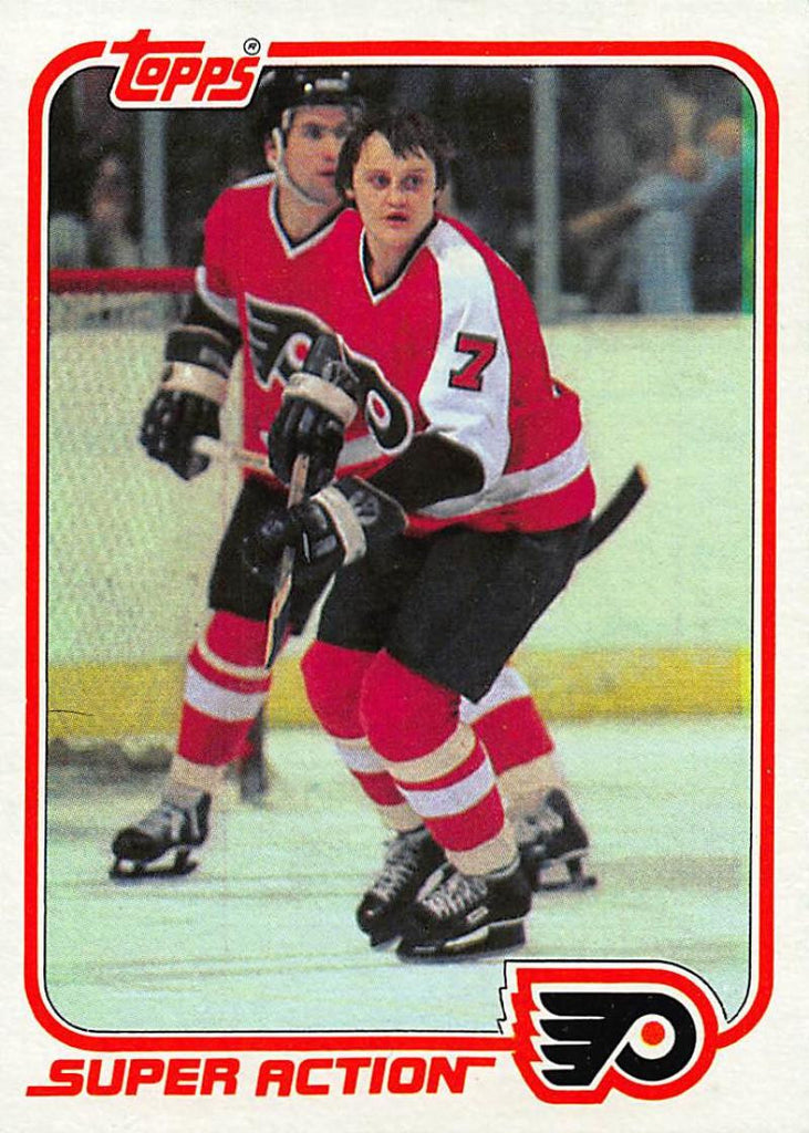 1981-82 Topps #E123 Bill Barber NM-MT Hockey NHL Flyers