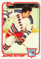 1981-82 Topps #E124 Barry Beck NM-MT Hockey NHL NY Rangers
