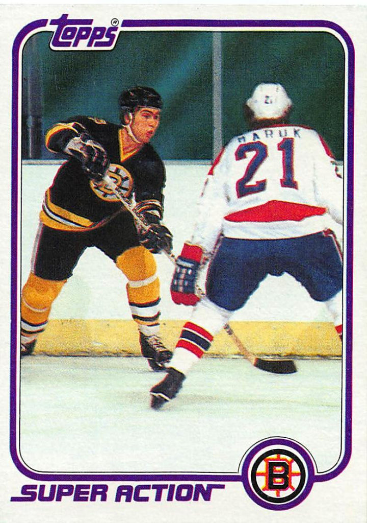 1981-82 Topps #E126 Ray Bourque NM-MT Hockey NHL Bruins