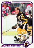 1981-82 Topps #E129 Rick Middleton NM-MT Hockey NHL Bruins