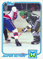 1981-82 Topps #E131 Mike Rogers NM-MT Hockey NHL Whalers
