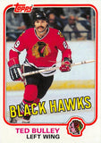 1981-82 Topps #W68 Ted Bulley NM-MT Hockey NHL Blackhawks